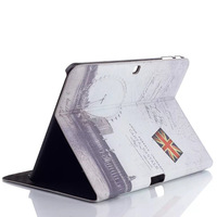 For Samsung galaxy TAB4 T530 stylish international site PU PVC case protector stand card holder