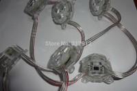 30mm diameter UCS1903 led pixel module,0.72W,3pcs 5050 SMD RGB leds inside,DC12V input;IP68;20pcs a string