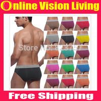 Wholesale 2014 Sale High Quality 1 PCS Sexy Men Briefs Shorts Men's Sexy Underwear Brief Modal Men Shorts Wholesale 4 Size A0583
