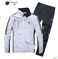 2014 New Men Spring Autumn Brand Leisure Tracksuits, Breathable Quick-dry Sports Suit Hoodies Set Jogging Jacket+pant 2pcs Set