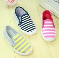 Free shipping new children's canvas casual shoes children's shoes Korean version a pedal size (14.5cm---17.5cm) +wholesale #098