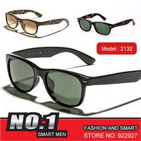 Free shipping 2014 new collection fashion brand sunglasses new wayfarer rb2132 sunglasses men women glasses models vintage sport