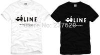 Free shipping short sleeve t-shirt brand t shirt fashion t-shirt top brand tee letter print tshirt 100% cotton 6 color