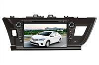 For Toyota Corolla 2013 Car DVD with GPS,Bluetooth,ipod,PIP,Games,Dual Zone,Steering Wheel Control