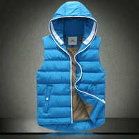 New 2014 Plus Size 3XL Winter Vest Men Brand Mens Winter Warm Coat  Waistcoat Couples Sleeveless Jacket 50off