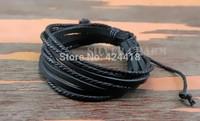 Fashion leather bracelet