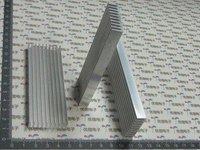 Free shipping,10pcs 100*35*10mm Aluminum Heatsink Radiator Heat Sink