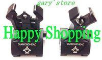 Diamondhead DIAMOND Flip-Up folding Rear Combat Sight & HYBRID Front Sight free shipping