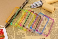 2014 New 8 colors soft bumper for iphone 4 4s 5 5s bumper 30pcs/lot free shipping