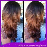 2014 New Products human hair u part wig Virgin Peruvian Human Hair Ombre U Part Wig 1B#/30#  For Black Women Fast Shipping