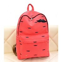 Free shipping fashion bread printing children school bags for teenagers backpack child canvas schoolbag children backpacks