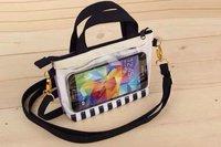 2014 Hello Kitty Cute Universal touch handbag  phone case For iPhone 5 5S 5C 6 6 plus LG G3 G2 galaxy S3 S4 xiaomi case handbag