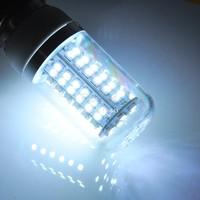 Top Quality 200V-240V/4W G9 SMD3528 80LED Corn Light Cold White/Warm White Transparent Cover Bulb Lamp B20 SV000081