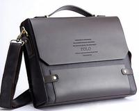New 2014 Promotion! PU Leather High Quality Men Shoulder Bag Business Messenger Bags Briefcases Men Crossbody Bags