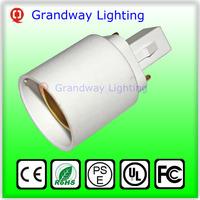 G24 To E27 Adapter Converter Light Bulb G24 To E27 Lampe Holder Convertidor for Lamp Testing