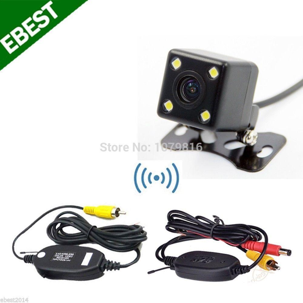 2.4GHz Wireless Car Backup Camera Night Vision Waterproof For Car Monitor / DVD(China (Mainland))
