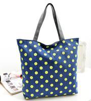 Women Handbags Real Freeshipping Handbag Wholesale Handbags 2014 New Bag Waterproof Canvas Tide Cool Demeanor Single Shoulder