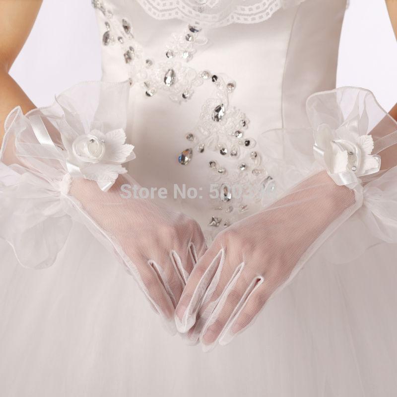 Свадебные перчатки Love forever , 4303