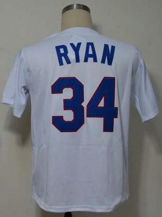 Free Shipping Baseball Jersey-Texas #34 Nolan Ryan Jersey,Throwback Baseball Jersey Stitched Logo Embroidery Sport Jersey(China (Mainland))