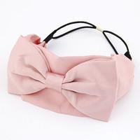 Bridal Hair Accessories Real 2014 New Korean Fashion Ladies Wearing Big Ribbon Hair Bows Accessories / Bands For Women Headwear