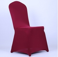 Free Shipping High Quality Burgandy Colors Spandex Chair Cover