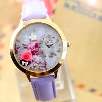 New hot sale fashion creative handmade polymer clay quartz watches women Wrist watch Girl friend birthday gift Christmas gifts