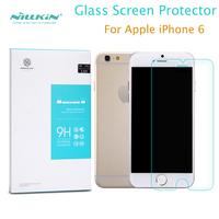 Brand New pelicula de vidro For Apple iphone 6 (4.7 '') NILLKIN Amazing H Nanometer Anti-Explosion Glass Screen Protector