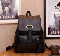 Free shipping fashion black PU children backpacks school bags for teenage girls children's backpacks mochilas