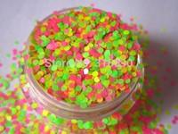 Dot Glitter Mix Solvent Resistant Glitter Blend for Nail Polish Frankening Scrapbooking G315