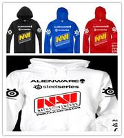 Steelseries Navi Hoodies Gaming Men Hoodies DOTA WCG Male Sport Hoody Sweater, Men's Outwear Hooded Casual fleece