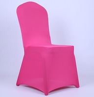Free Shipping High Quality Fuschia Colors Spandex Chair Cover