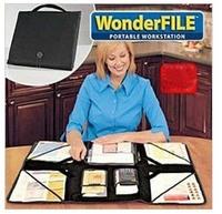 Good quality no more mess file bag,ingenious organizer portable folding file briefcase bag 48pcs