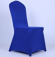 Free Shipping High Quality Royal Bule Colors Spandex Chair Cover