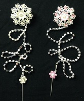 sps035 big sizearab scarf brooches in round apattern with long chain 4cm in diam