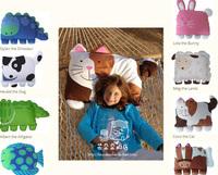 New Children Pets Pillowcase kids doomagic pillow case,pillow cover,pillowcase 8 Animal styles Pillows covers 1set/lot