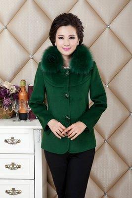 Женская одежда из шерсти 2014 coat Slim Faux Colalr LY1585 women coat