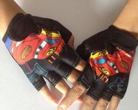 Children riding gloves gloves child Half Finger Skateboard skating outdoor sports boys and girls bicycle gloves