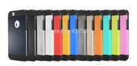 10pcs wholesale Newest  tough slim armor hybrid PC+TPU Spigen SGP II Case for  Iphone 6 case