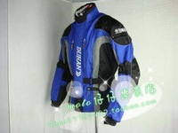 NEW DUHAN D-023 Men's Motorcycle riding suit Racing jacket racing pants suit With removable liner and soft bracegood