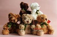 "Free Shipping 7.9"" Small Teddy Bear Plush Toys 20cm High Quality Super Soft Doll Toy Birthday Decorations kids Gift"