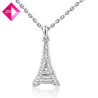 D&Z Platinum Tower necklace Fashion necklace series