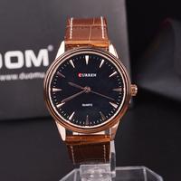 Curren Japanese Quartz Clocks And Watches, Business Men's Watch, Man Strap Watch, Free Shipping