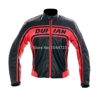 2014 Autumn Winter New DUHAN Men's PU Motorcycle Racing Jackets Motocross Riding jacket with protector gear