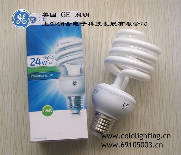 GE Lighting 24 Watt E27 Base CFL Light Bulb - Compact Fluorescent - - 100 W Equal - 80 CRI(China (Mainland))