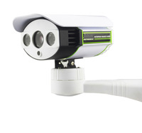 IP wireless or wire net work is possible roteable hd infrared wireless IP camera