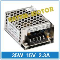 Small volume of 35W 15V switching power supply 86V-264V AC to DC 15V/2.3A Model MS-35-15