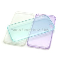 """Ultra-thin Transparent Clear TPU Gel Soft Case For iPhone 6 4.7"""" Mobile Phone Back Cover Case"""