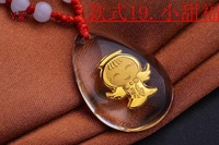 Crystal Pendant--Small sweet blessing,999 glod new fashion jewelry, crystal gold for men necklaces&pandents Fashion style