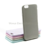 """5 Color Mix Color 4.7"""" Untra-thin Transparent Clear TPU Gel Case Soft Back Cover For iPhone 6"""