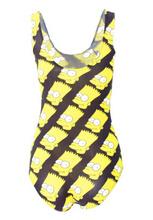 EAST KNITTING X 303 2015 New Women Swimwear Simpson Head Print Swimsuit One Piece Sexy Bathing
